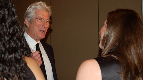 Laura Molta with Richard Gere